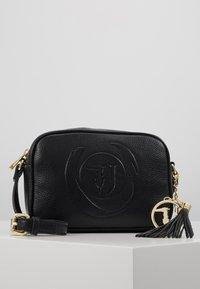 Trussardi Jeans - FAITH CAMERA CASE - Across body bag - black - 0