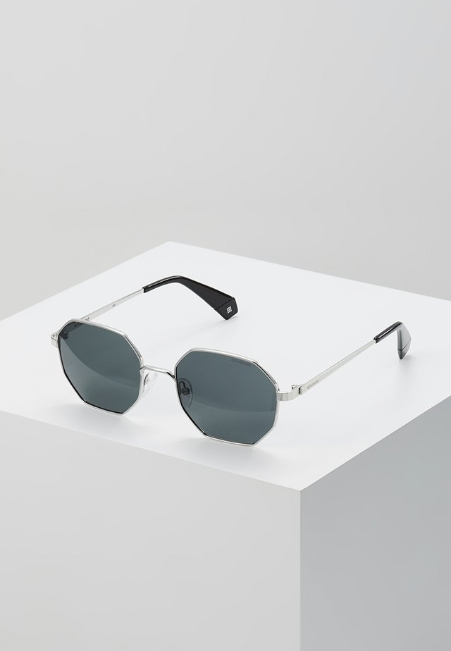 Sonnenbrille - silver-coloured/black