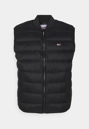 PACKABLE LIGHT VEST - Waistcoat - black
