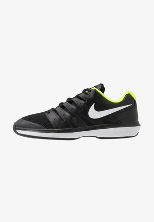 Multicourt tennis shoes - black/white/volt
