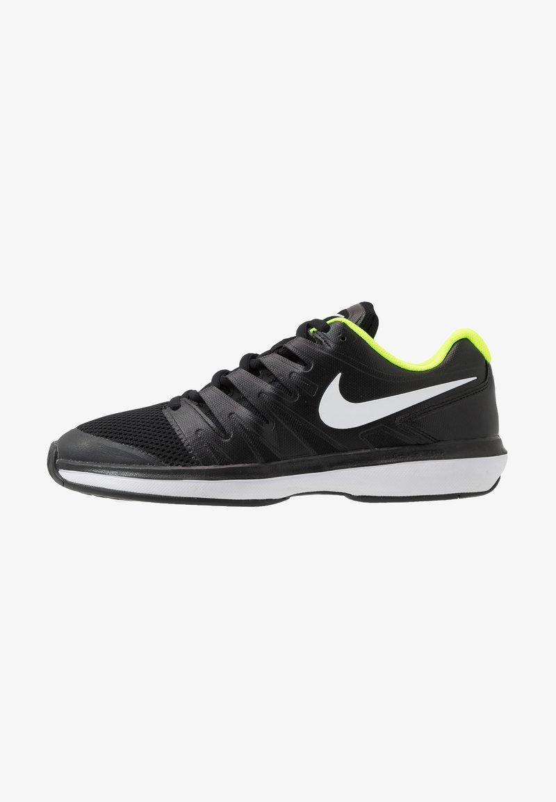 Nike Performance - Multicourt tennis shoes - black/white/volt