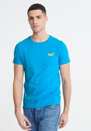 NEON LITE TEE - Basic T-shirt - electric blue