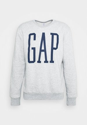 LOGO - Collegepaita - light heather grey