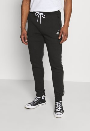 METALLIC UNISEX  - Tracksuit bottoms - black