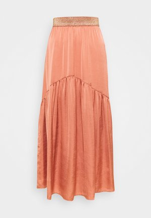 LJUPON  - Maxi skirt - rose des sables