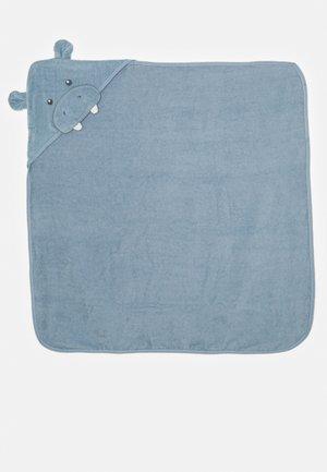 BATH HOODED TOWEL UNISEX - Bath towel - blue