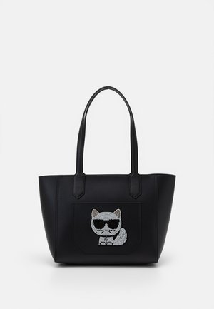 CHOUPETTE TOTE - Shopping bags - black