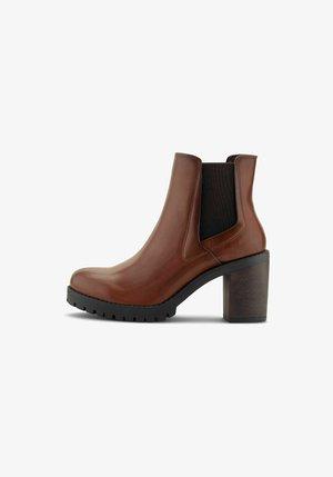 Classic ankle boots - mittelbraun