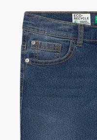 Benetton - Slim fit jeans - blue denim - 3