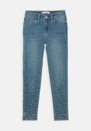 710 SUPER SKINNY FIT - Jeansy Skinny Fit - sparkly night
