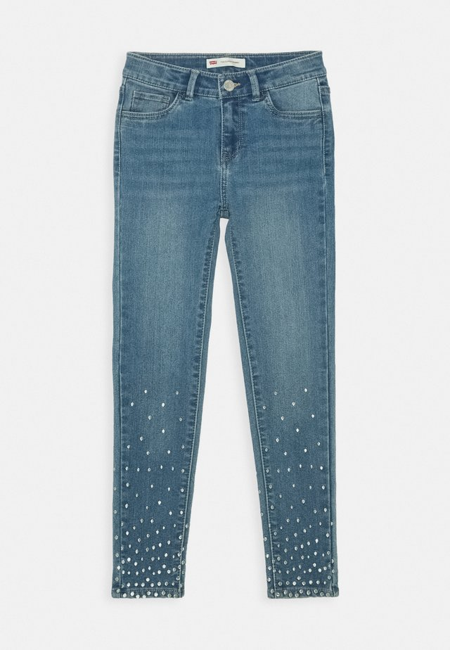 710 SUPER SKINNY FIT - Jeans Skinny - sparkly night