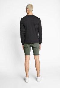 G-Star - 3301 SLIM SHORT - Shorts di jeans - dark lever - 2