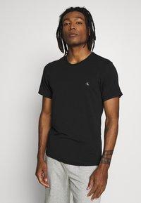 Calvin Klein Underwear - CK ONE CREW NECK 2 PACK - Maglietta intima - black - 1