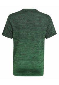 adidas Performance - AEROREADY GRADIENT T-SHIRT - Sports shirt - black - 1
