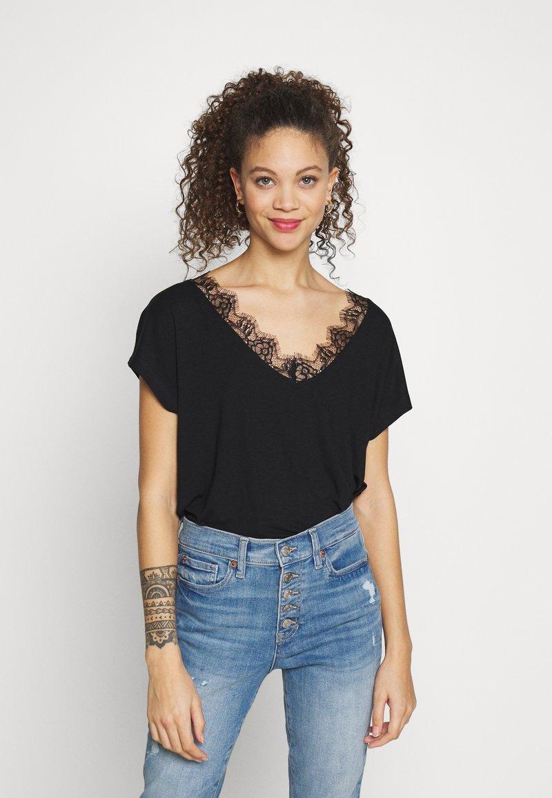 Anna Field Petite - Print T-shirt - black