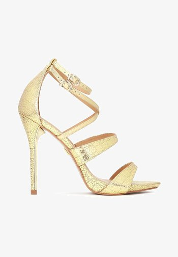 TERRY - High heeled sandals - gold