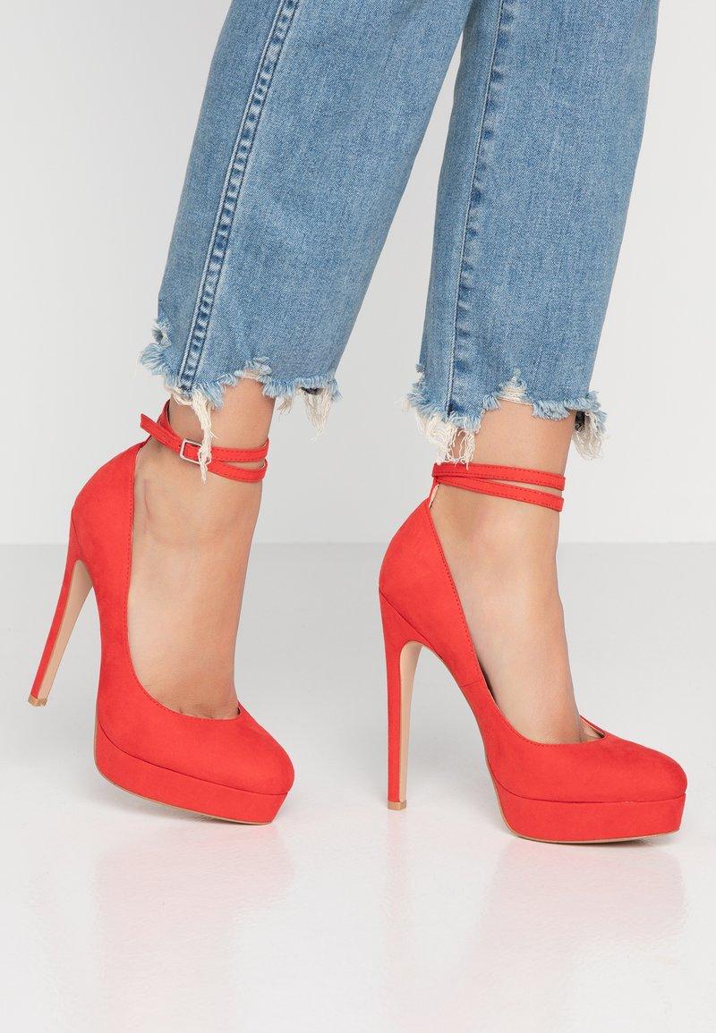 Even&Odd - High heels - red