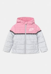 Nike Sportswear - TAPING COLOR BLOCK PUFFER - Winter jacket - pink - 0