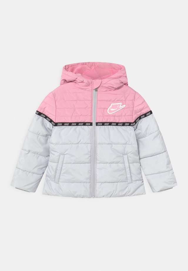 TAPING COLOR BLOCK PUFFER - Veste d'hiver - pink