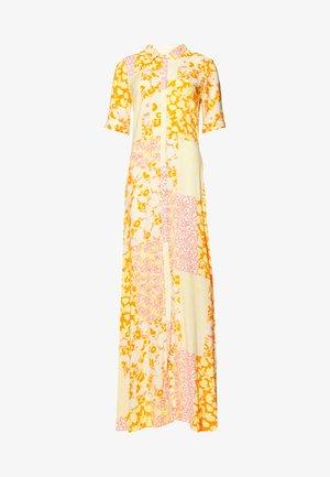 YASPATCHA ANKLE DRESS - Maxi-jurk - golden haze/patcha
