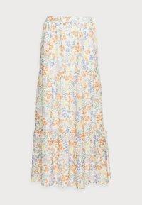Esprit - SKIRT - Maxi skirt - off white - 4