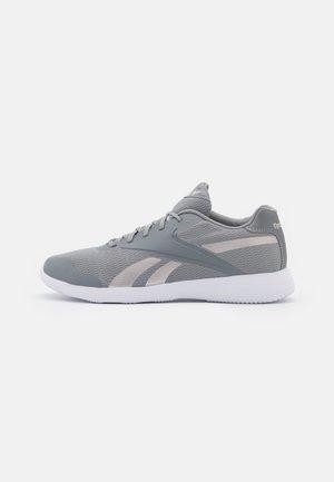 STRIDIUM - Sportieve wandelschoenen - pure grey 5/footwear white/quartz metallic