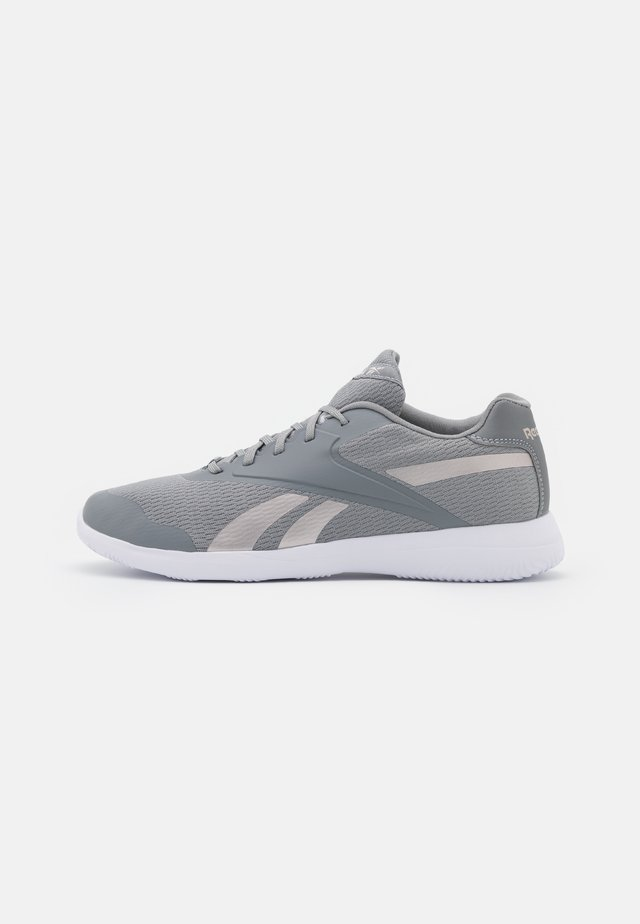 STRIDIUM - Scarpe da camminata - pure grey 5/footwear white/quartz metallic