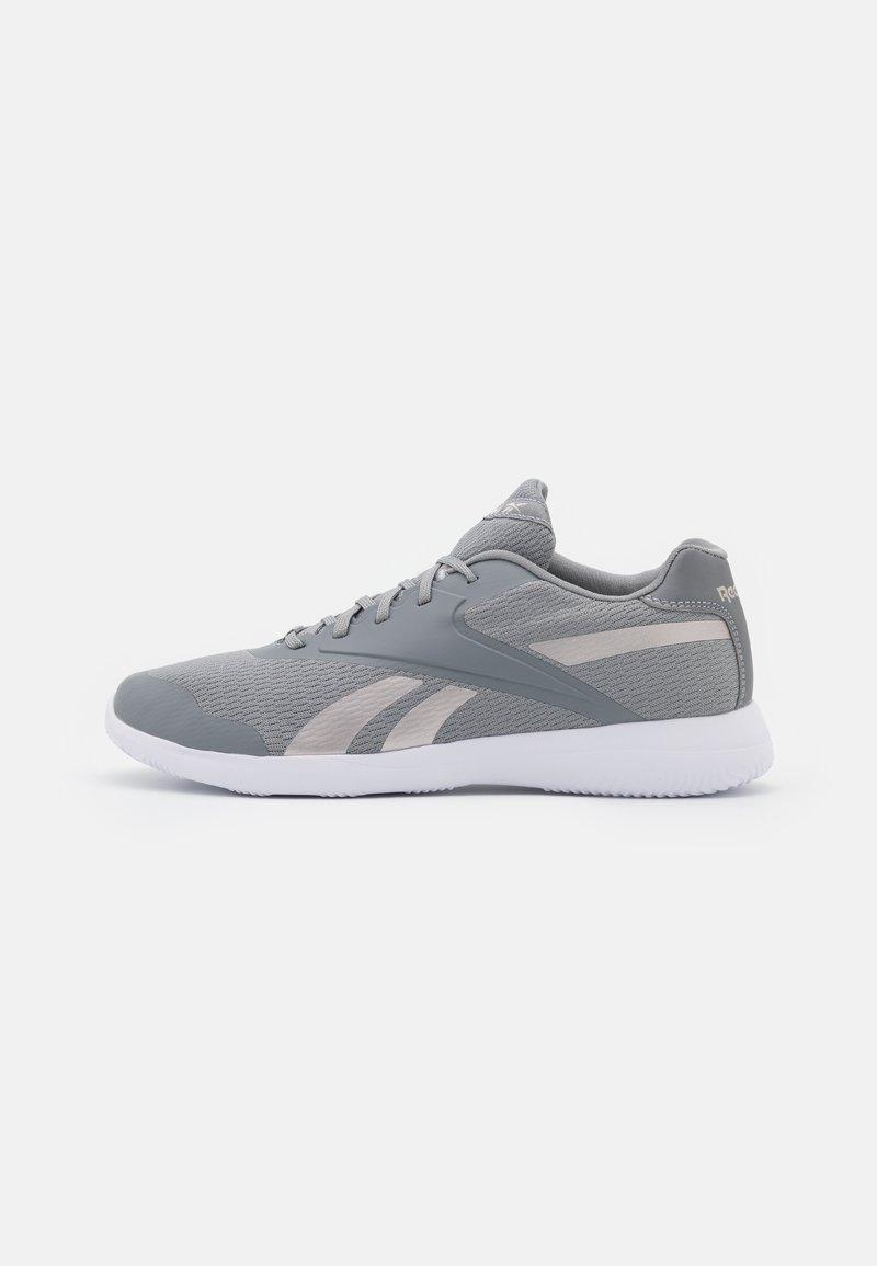 Reebok - STRIDIUM - Sportieve wandelschoenen - pure grey 5/footwear white/quartz metallic