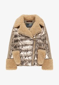 Frieda & Freddies - STEPPJACKE VANESSA MIT OVERSIZE SCHNITT - Winter jacket - gold - 5