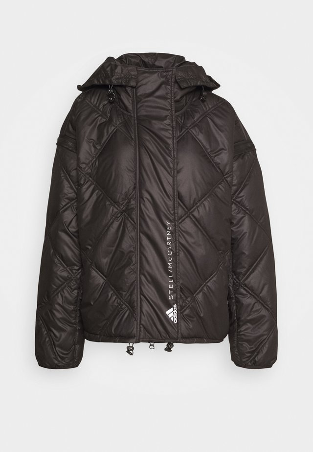 SHORT PUFFER - Giacca invernale - black