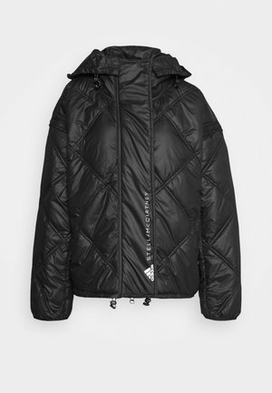 SHORT PUFFER - Winter jacket - black