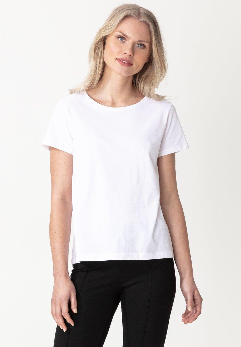Indiska - MATHILDA - Basic T-shirt - white
