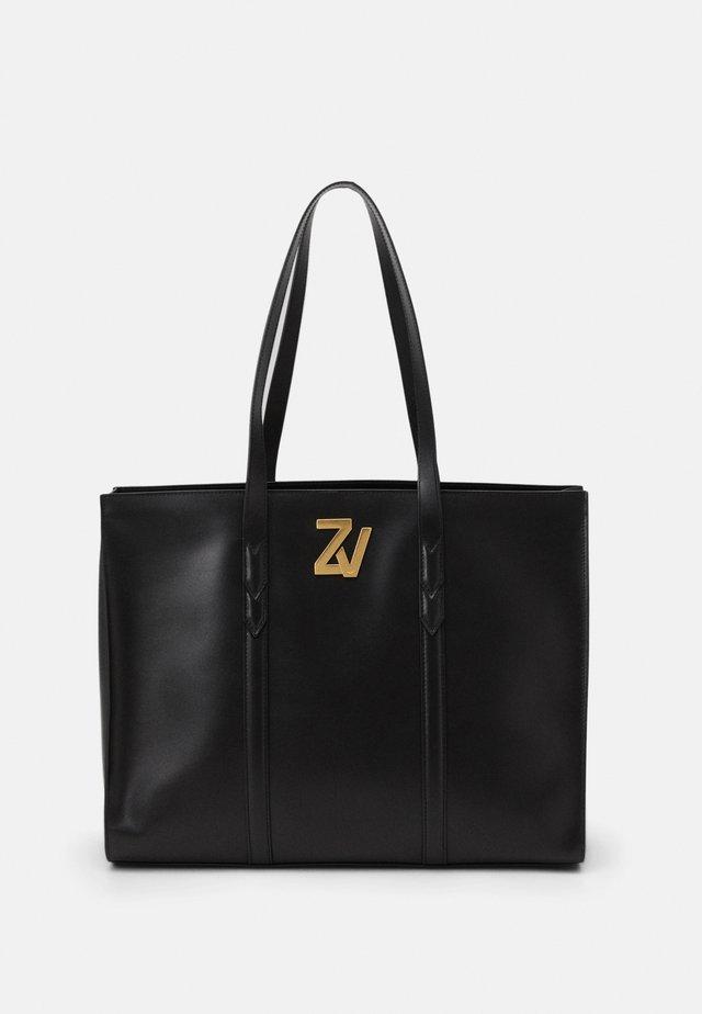 INITIALE TOT - Shopping bag - noir