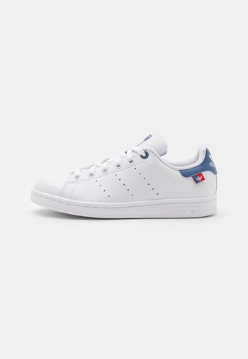 STAN SMITH UNISEX - Zapatillas - footwear white/scarlet/crew blue