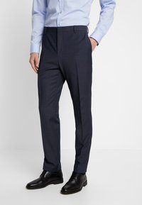 Calvin Klein Tailored - BISTRETCH DOT - Suit - blue - 4