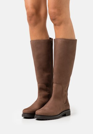 HANNOVER HILL TALL BOOT - Boots - dark brown