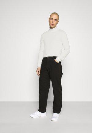 2 PACK - Strickpullover - white