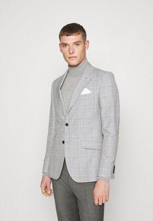 CHECK JACKET - Jakkesæt blazere - grey