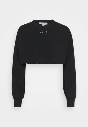 EXTREME CROPPED  - Sweatshirt - black