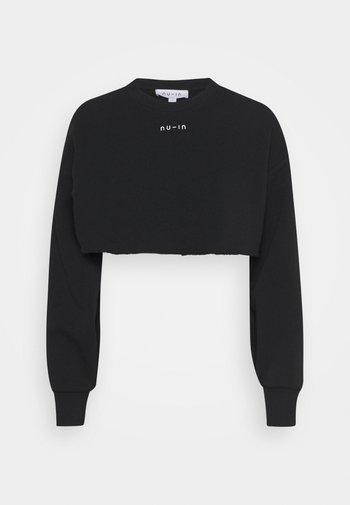 EXTREME CROPPED  - Sweatshirt - black
