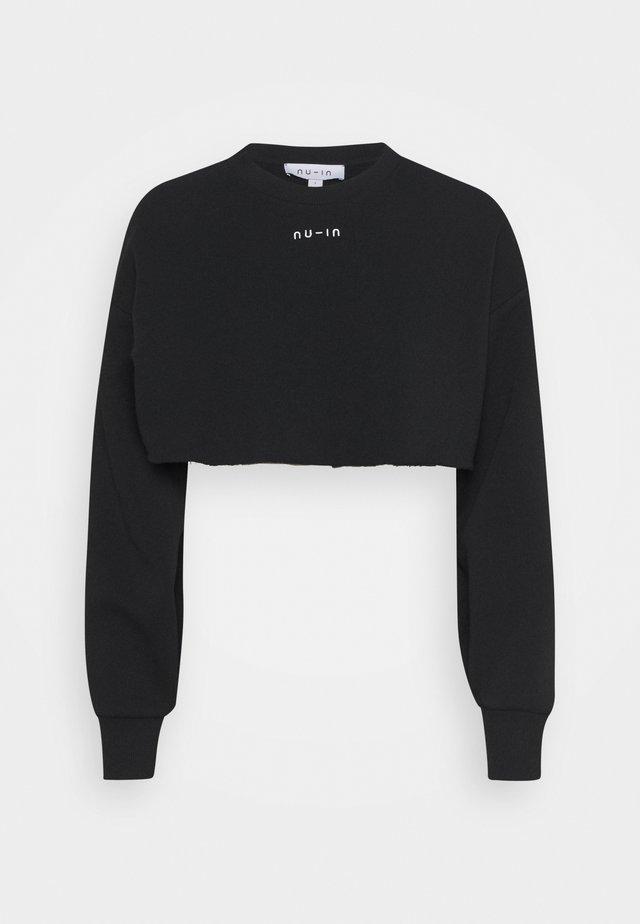 EXTREME CROPPED  - Sweatshirts - black