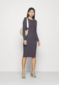 Anna Field - Gebreide jurk - dark purple - 1