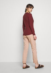 Sisley - Long sleeved top - bordeaux - 2