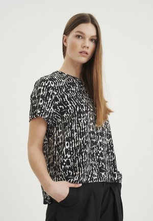 HELAINEIW - Blouse - black textured wall