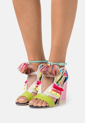 AYA - Sandals - blue/multicolor