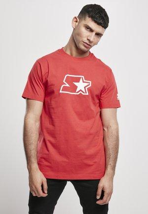 Print T-shirt - starter red