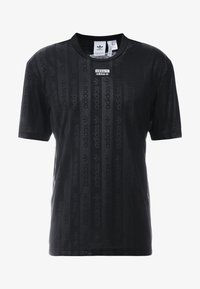 adidas Originals - T-shirt z nadrukiem - black - 4