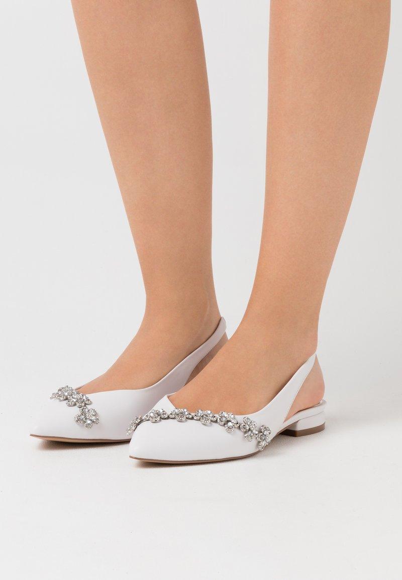Lulipa London - JOURNEY - Ballerinat - white