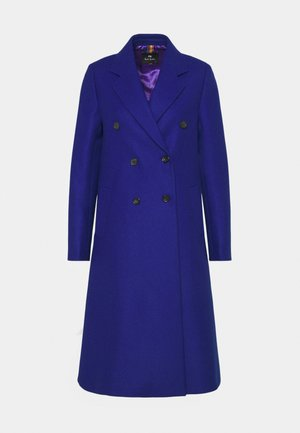 Classic coat - royal blue