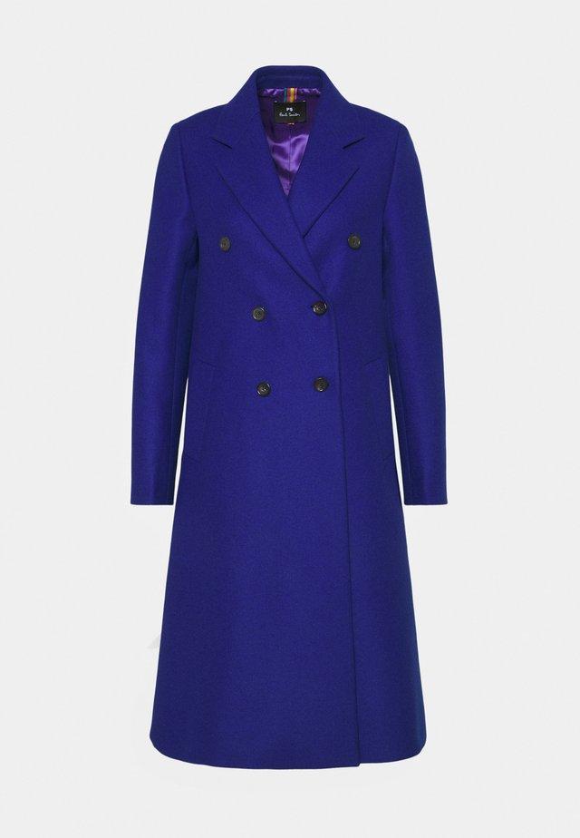 Classic coat - royal blue